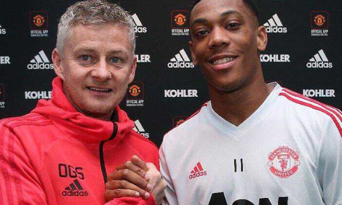 Anthony Martial ile 2024'e kadar!