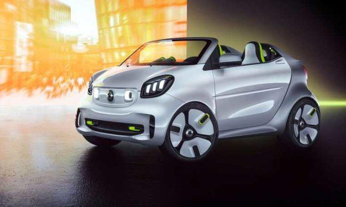 Smart 20'inci yaşına özel elektrikli otomobil üretti