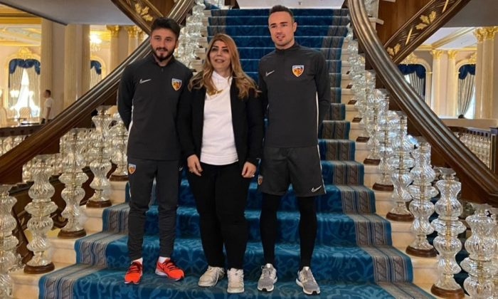 Kayserispor 3 yeni transferine imzayı attırdı