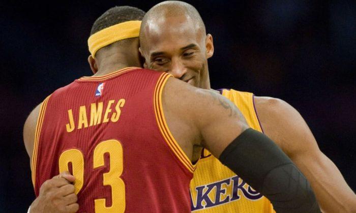LeBron James'ten Kobe Bryant'a veda