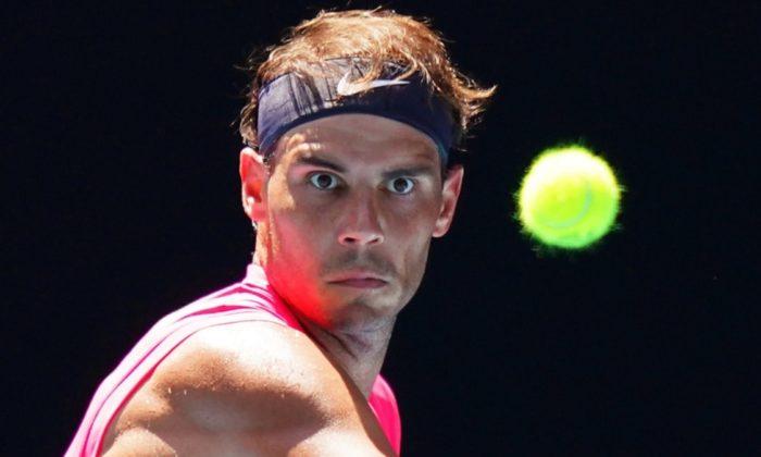 Nadal ve Karolina Pliskova, Avustralya Açık Tenis Turnuvası'nda 2. tura yükseldi