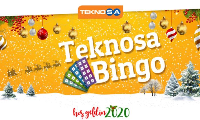 Teknosa'dan yılbaşına özel Bingo yarışması