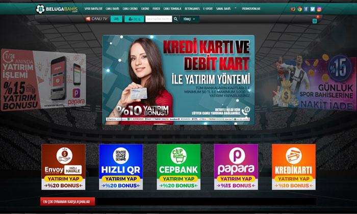Belugabahis Spor Bahisleri ve Casino Sitesi