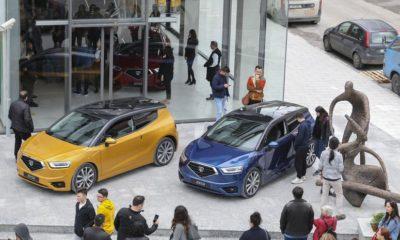 KKTC'nin yerli otomobili halka açıldı
