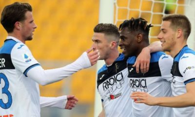 Atalanta gol olup yağdı