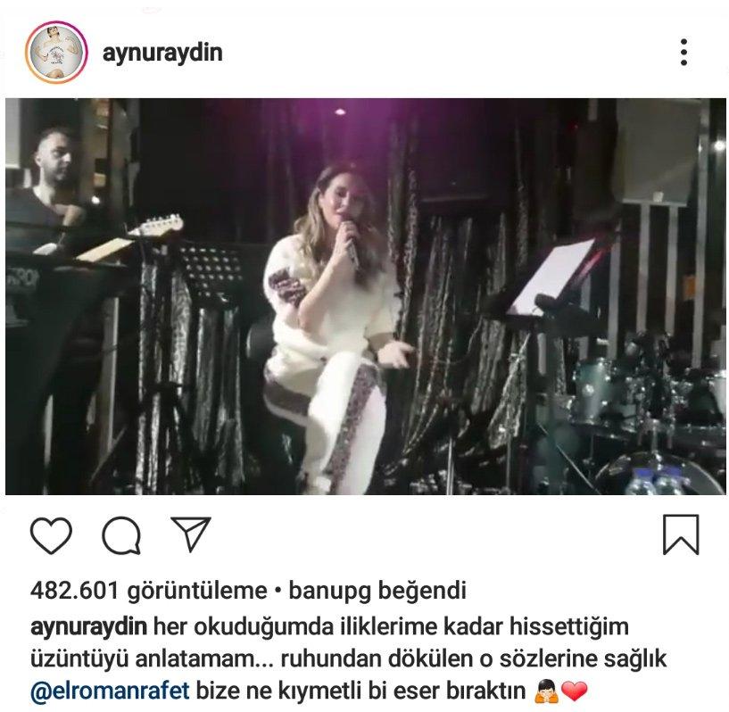 Aynur Aydın'dan çirkin emojili yanıt!