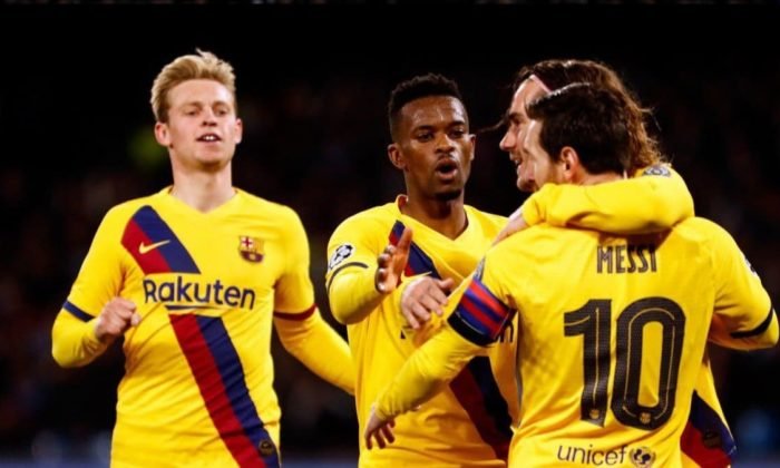 Barcelona avantajı kaptı