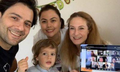 Canan Ergüder Kenan Ece çifti oğullarının doğum gününü kutladı
