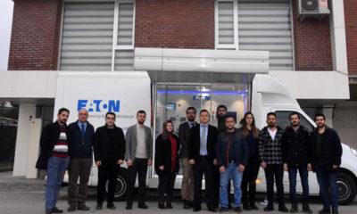 Eaton Teknoloji Karavanı Konya'yı ziyaret etti