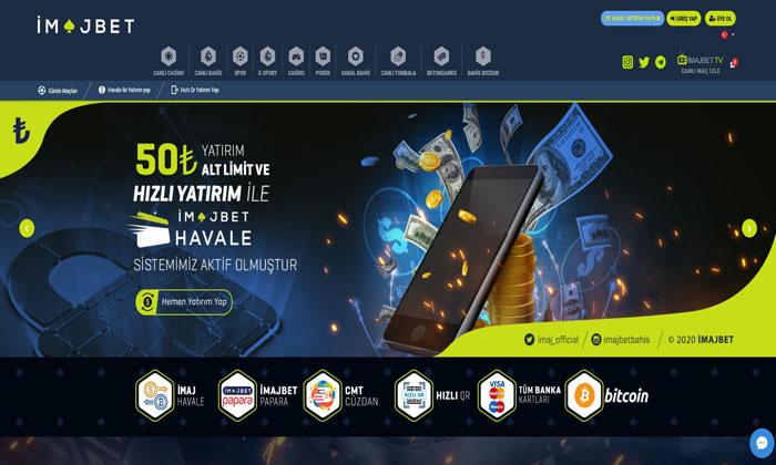 İmajbet Sanal Spor Bahisleri ve Casino Sitesi