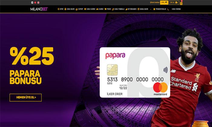 Milanobet Online Bahis ve Casino Sitesi