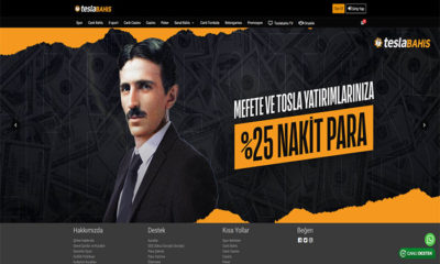 Teslabahis Spor Bahisleri ve Casino Sitesi