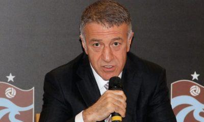 Trabzonspor Başkanı Ahmet Ağaoğlu'dan play-off açıklaması!