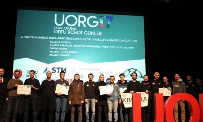 Uluslararası Robot Günleri'nde şampiyonlar belli oldu