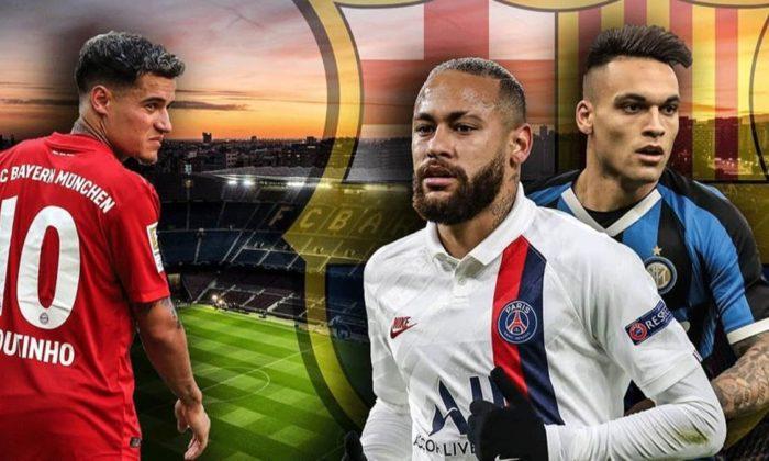 Barcelona'nın Neymar-Coutinho-Martinez planı!