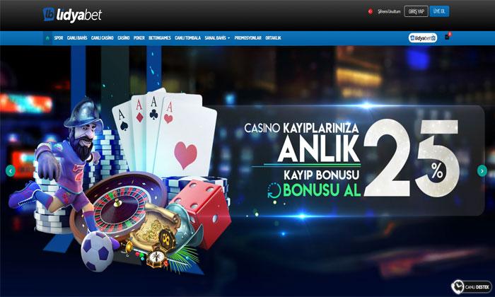 Lidyabet Bahis ve Casino Sitesi