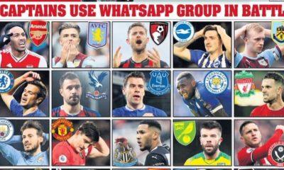 Premier Lig takım kaptanları WhatSapp'ta karar aldı!