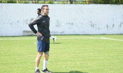 Ampute Milli Takım kaptanı Osman Çakmak Denizlispor antrenmanında