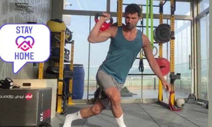Hasan Ali Kaldırım'a kick boksçu antrenör