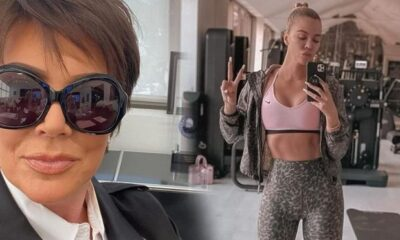 Khloe Kardashian'dan annesi Kris Jenner'a şaşırtan hediye