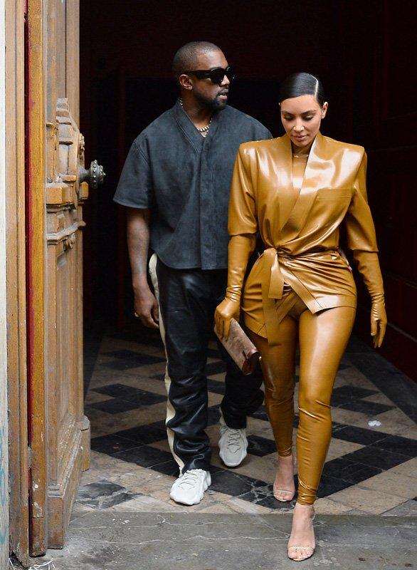 Kim Kardashian ve Kanye West'in boşanacağı iddia edildi