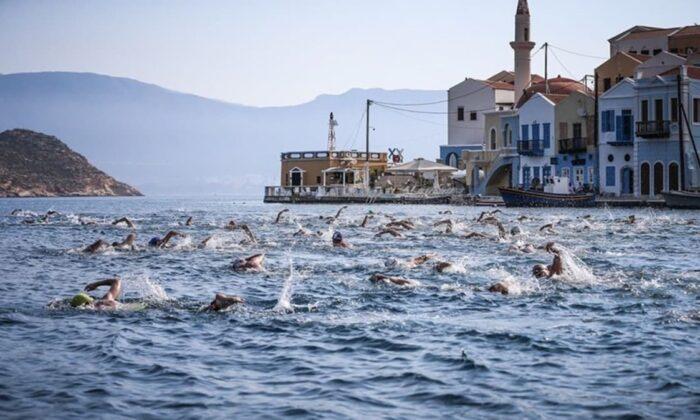 Meisa Kaş Açık Deniz Yüzme Yarışı iptal edildi