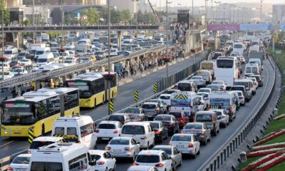 Yeni araçların yarısı 3 büyük şehirden