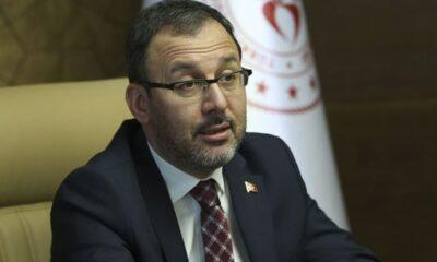 Bakan Kasapoğlu, Ahmet Nur Çebi'yle konuştu