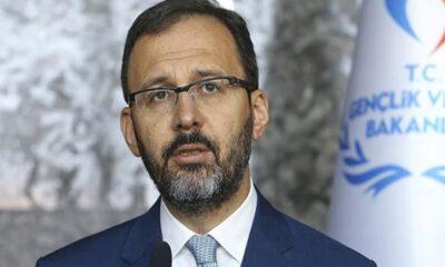 Bakan Kasapoğlu'ndan Galatasaray Başkanı Mustafa Cengiz'e geçmiş olsun mesajı