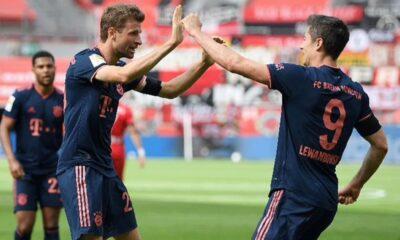 Maç sonucu: Bayer Leverkusen 2-4 Bayern Münih