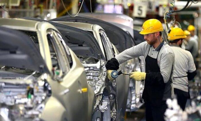 Otomotiv üretimi Mayıs'ta 5 kat arttı
