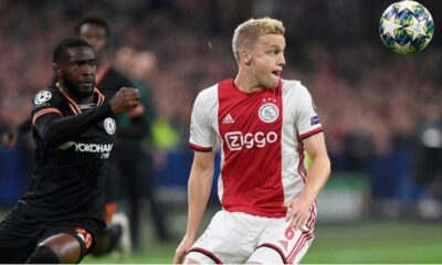 Real Madrid'in transfer gündeminde Van de Beek var