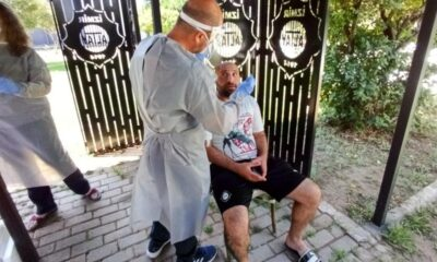 Altay'a koronavirüs testi
