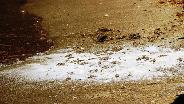 Bodrum plajlarındaki beyaz kumun sırrı ortaya çıktı