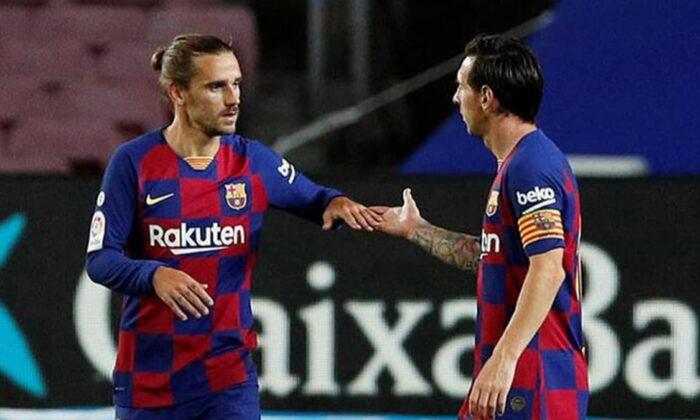Christophe Dugarry'den şok açıklama: Griezmann, Messi'nin yüzüne bir yumruk atmalı