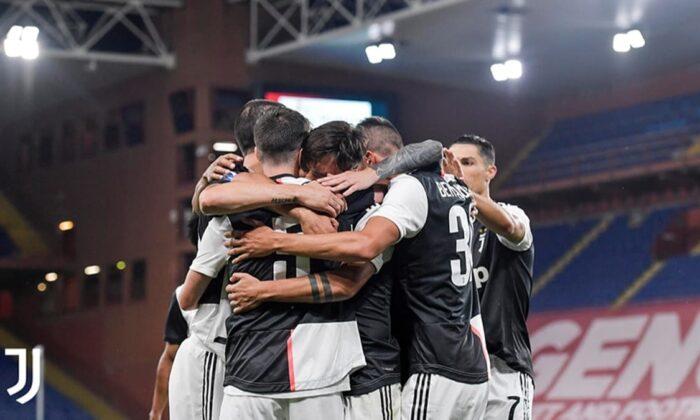 Genoa'yı yenen Juventus liderliğini sürdürdü