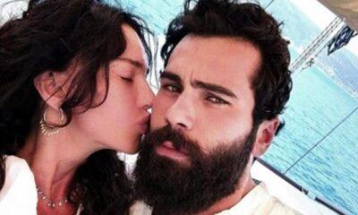 Hande Ataizi genç sevgilisiyle tatilin keyfini çıkartıyor