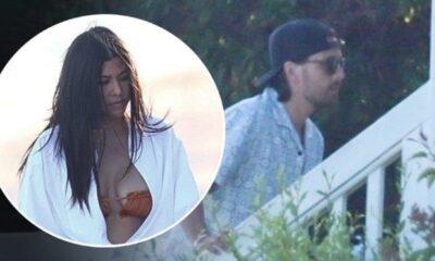 Kourntey Kardashian eski sevgilisi Scott Disick ile Malibu'da görüntülendi