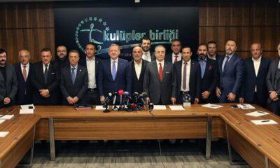 Kulüpler Birliği'nden kritik toplantı