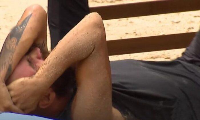 Survivor'da sakatlanan Sercan Yıldırım yerden kalkamadı