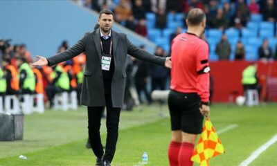 Trabzonspor Hüseyin Çimşir'le yenilgiyi unuttu
