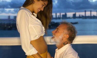 Ünlü fenomen Gianluca Vacchi ve Sharon Fonseca, bebeklerinin cinsiyetini açıkladı