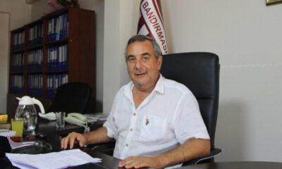 Bandırmaspor'da Başkan Göksel Karlahan görevi bıraktı