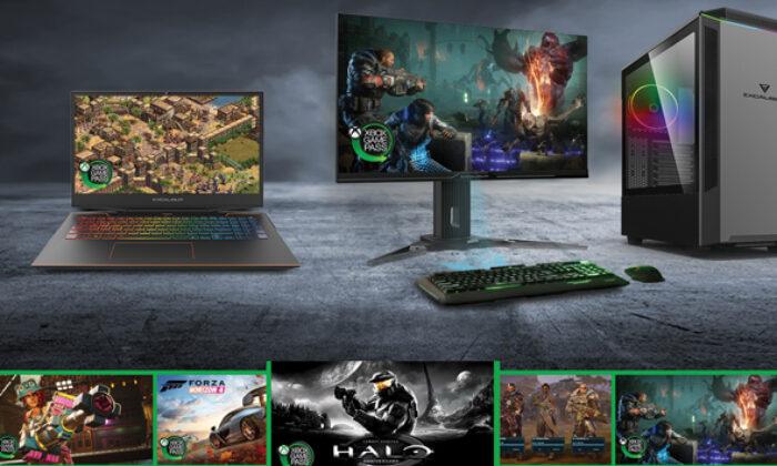 Excalibur oyun bilgisayarı Xbox Game Pass oyunları ile birlikte geliyor