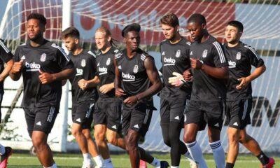Fabrice N'Sakala Beşiktaş antrenmanına katıldı