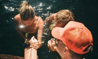Justin ve Hailey birlikte vaftiz oldu: Hayatımın en özel anlarından biri