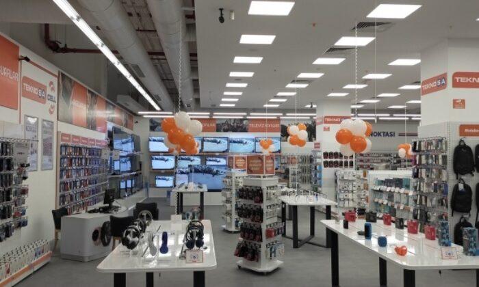 Teknosa'nın yeni normaldeki ilk mağaza yatırımı Ankara'ya