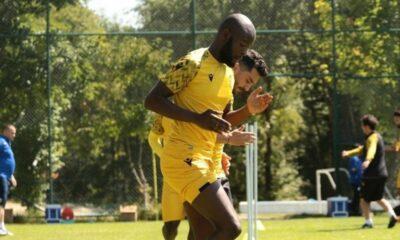 Yeni Malatyaspor'un yeni transferi kampa katıldı