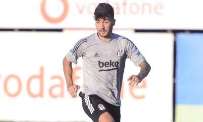 Atakan Üner ilk kez Beşiktaş antrenmanında