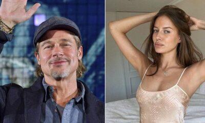 Brad Pitt'in yeni sevgilisi 'stalk' yaparken yakalandı!